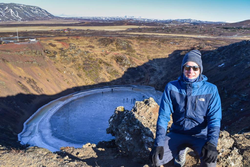 Kerid - jezioro wulkaniczne