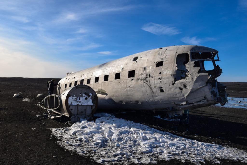Solheimasandur Plane Wreck - Wrak Samolotu Dakota