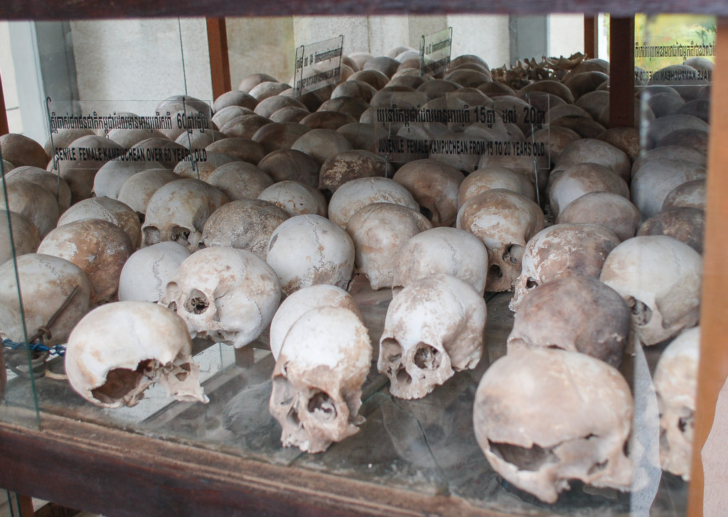 Choeung Ek - Pola śmierci