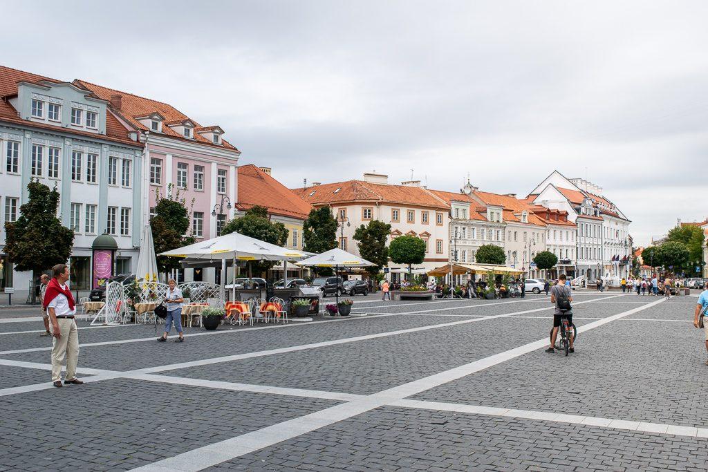 Plac Ratuszowy w Wilnie