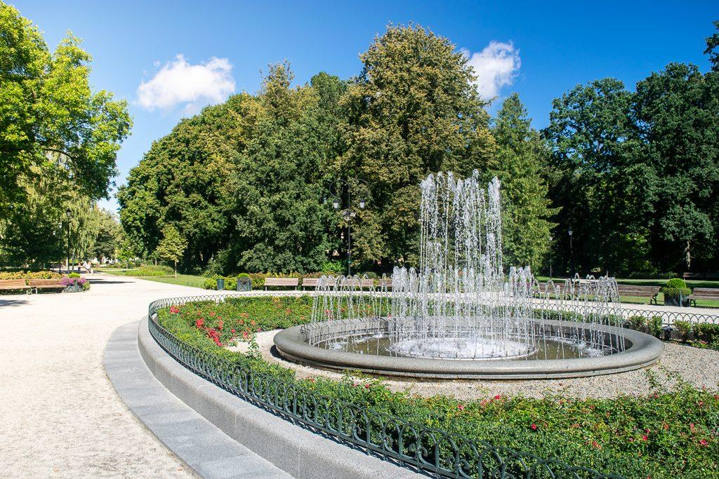 Park Miejski Ogród Bernardyński w Wilnie