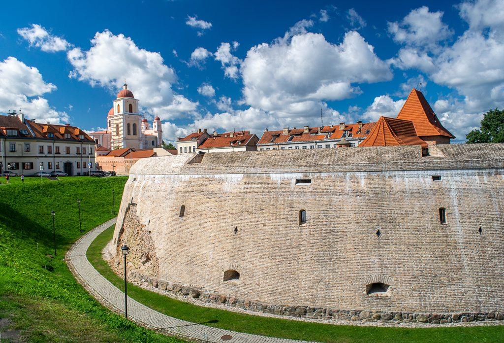 Barbakan w Wilnie