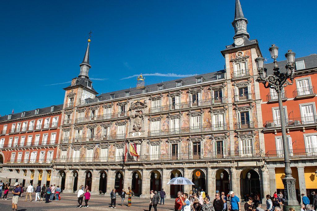 Popstrykane Podróże - Madryt - Plaza Mayor