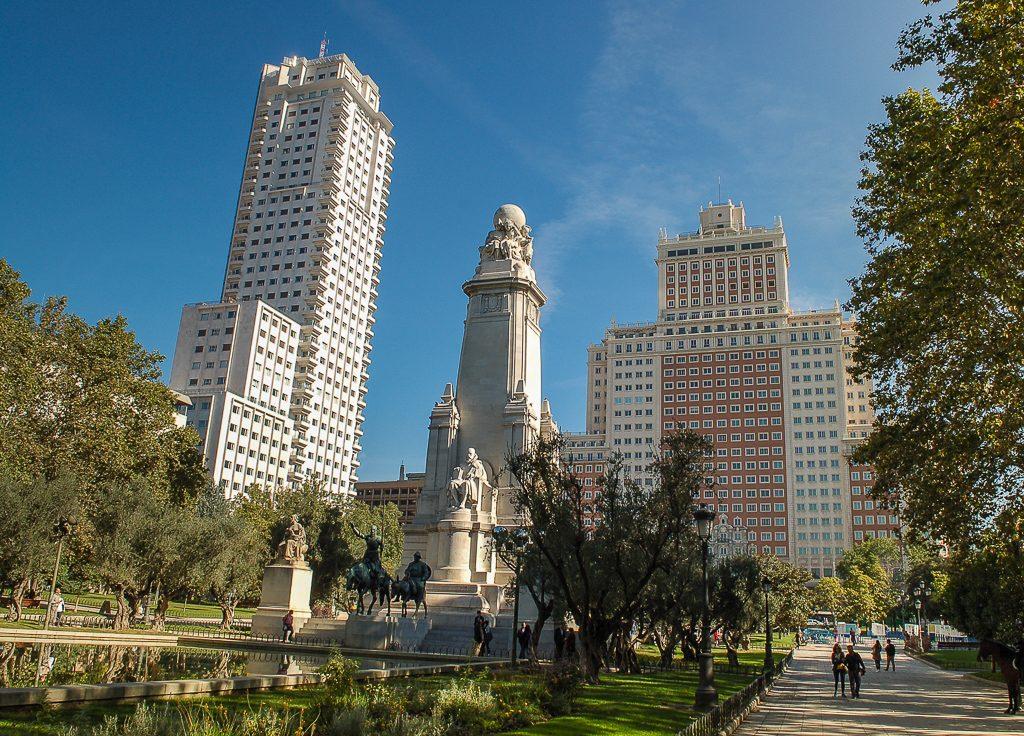 Plaza de Espana Madryt