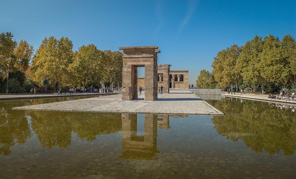 Templo de Debod Madryt