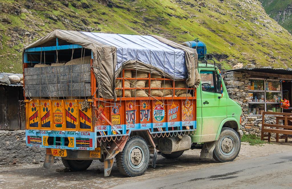 Droga z Manali do Leh