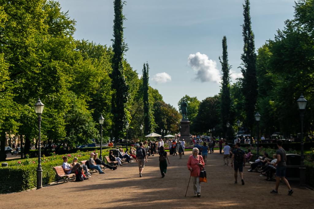 Esplanadi Park Helsinki
