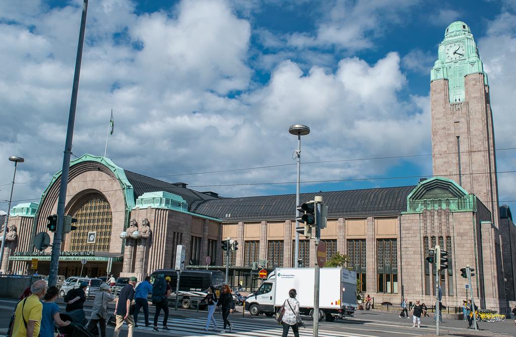 Helsinki Centralne Dworzec