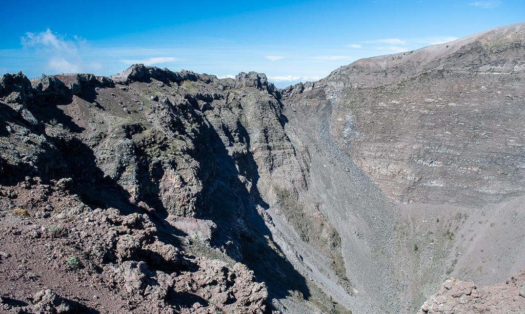 Wezuwiusz Krater