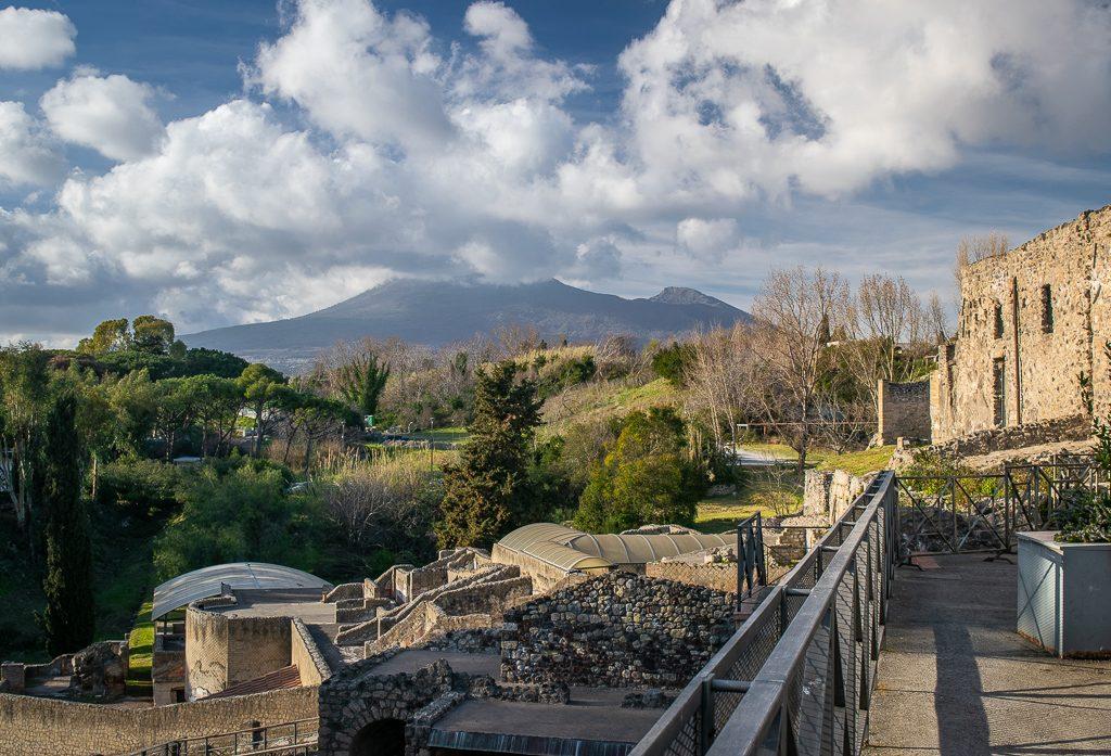 Wezuwiusz i Pompeje