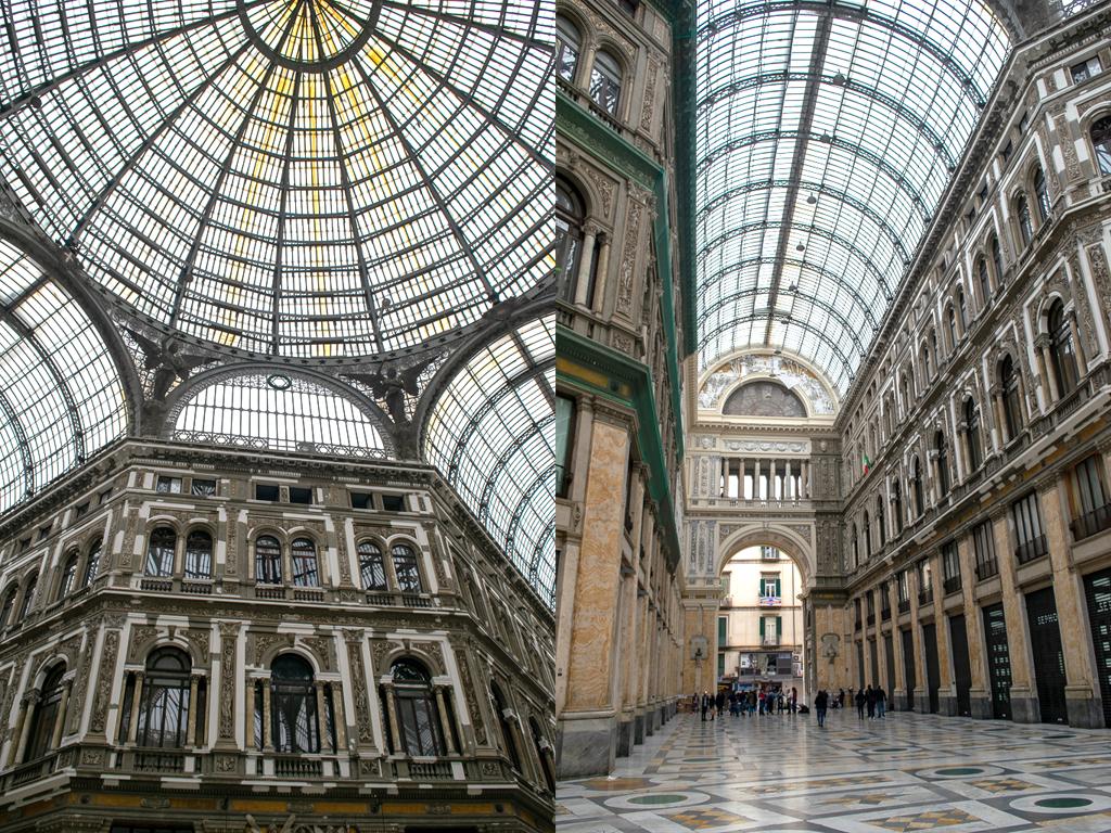 Galeria Umberto I Neapol