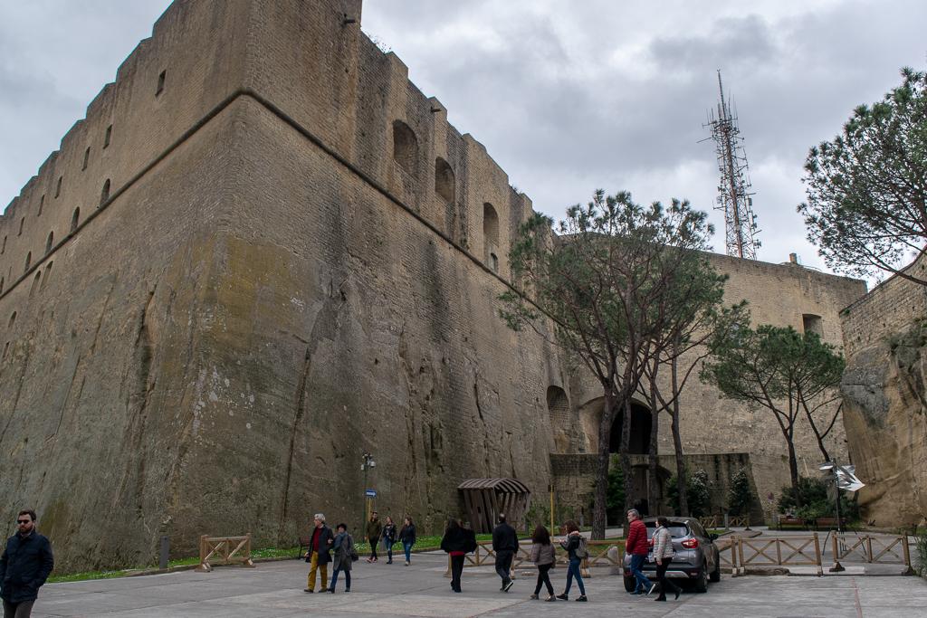 Castel Sant'elmo w Neapolu