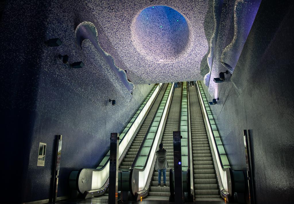 Stacja Metra Toledo w Neapolu
