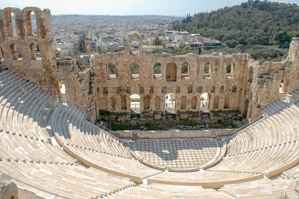 Odeon Heroda w Atenach