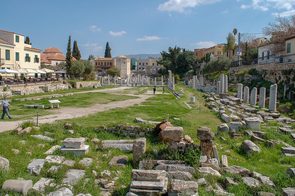 Forum Romanum w Atenach
