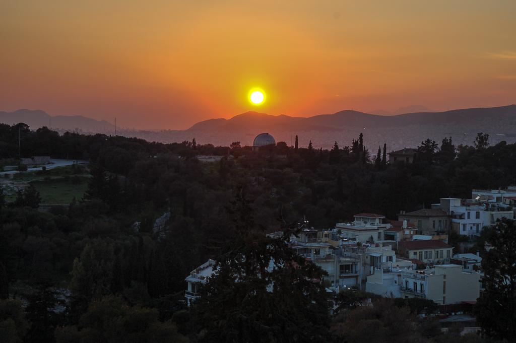 Wzgórze Areopag w Atenach
