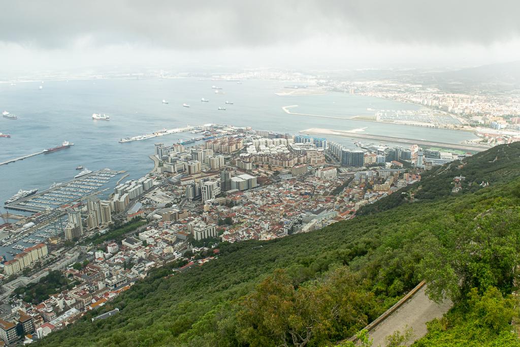 Gibraltar Popstrykane Podróże