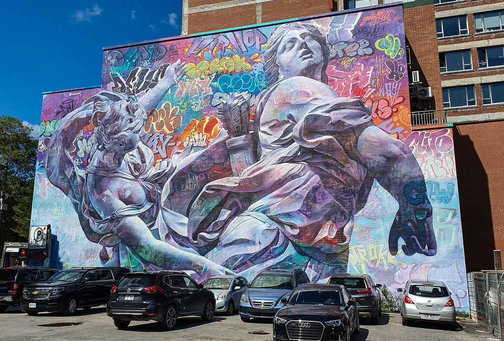 Graffity Alley Montreal - Co zobaczyć w Montrealu
