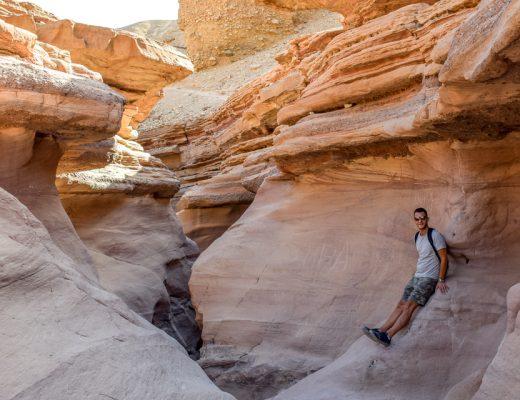 red canyon w Izraelu - popstrykane podroze